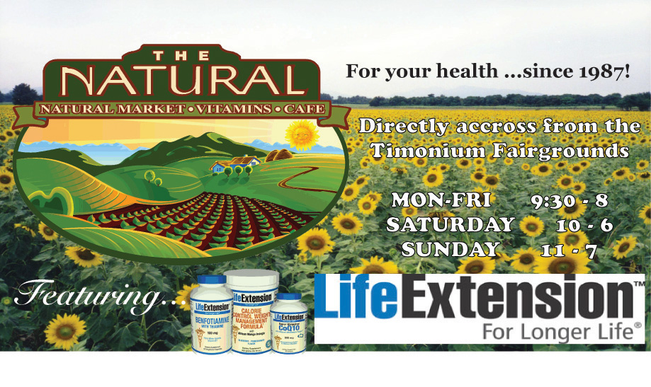 Print Ad for the Natural